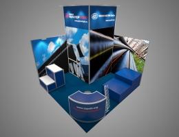 Выставочный стенд для Полимертепло