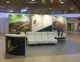 Выставочный стенд для Первый Строительный Фонд