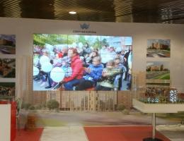 Выставочный стенд для ЖК Северная Корона