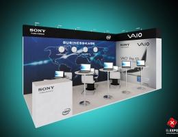 Выставочный стенд для SONY