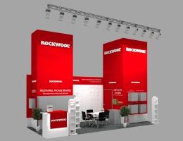 Выставочный стенд для ROCKWOOL