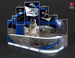 Выставочный стенд для Ascent Travel