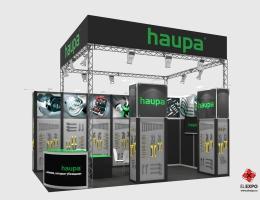 Выставочный стенд для HAUPA