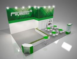 Выставочный стенд для FIMTEC