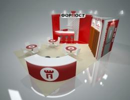 Выставочный стенд для ФорПост