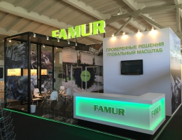 Выставочный стенд для FAMUR