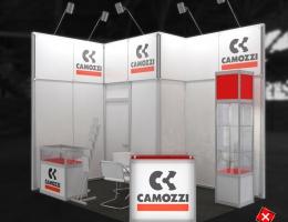 Выставочный стенд для Camozzi