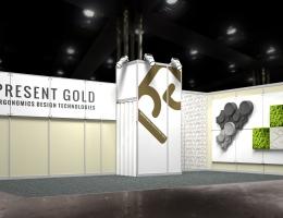 Выставочный стенд для Present Gold