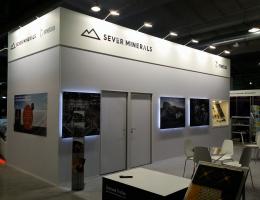 Выставочный стенд для SEVER MINERALS