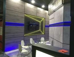 Выставочный стенд для ГАЗПРОМ БАНК