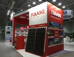 Выставочный стенд для RUUKKI