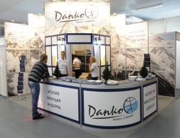 Выставочный стенд для Данко Трэвел