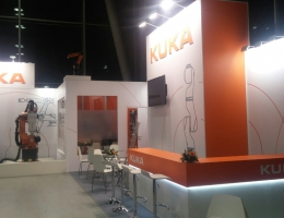 Выставочный стенд для KUKA