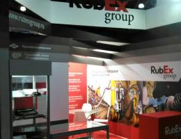 Выставочный стенд для RUBEX GROUP