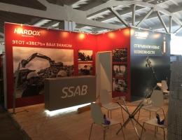 Выставочный стенд для SSAB