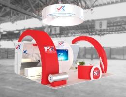 Выставочный стенд для ВОЛГАМЕТКОМ