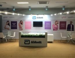 Выставочный стенд для Abbott