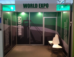 Выставочный стенд для World EXPO