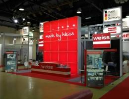 Выставочный стенд для WEISS