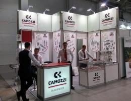Выставочный стенд для CAMOZZI AUTOMATION