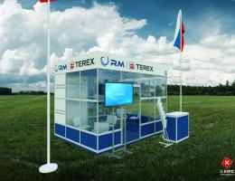 Выставочный стенд для RM TEREX