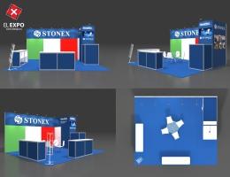 Выставочный стенд для Stonex
