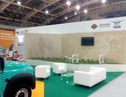 Выставочный стенд для УАЗ