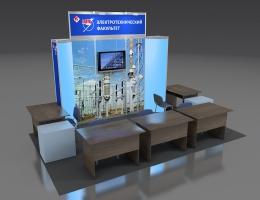 Выставочный стенд для СамГТУ