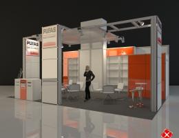 Выставочный стенд для PUFAS