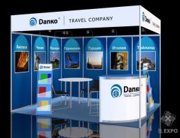 Выставочный стенд для ДАНКО