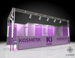 Выставочный стенд для KI KOSMETIK