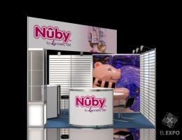 Выставочный стенд для NUBY