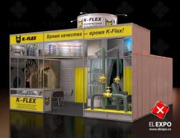 Выставочный стенд для K-FLEX